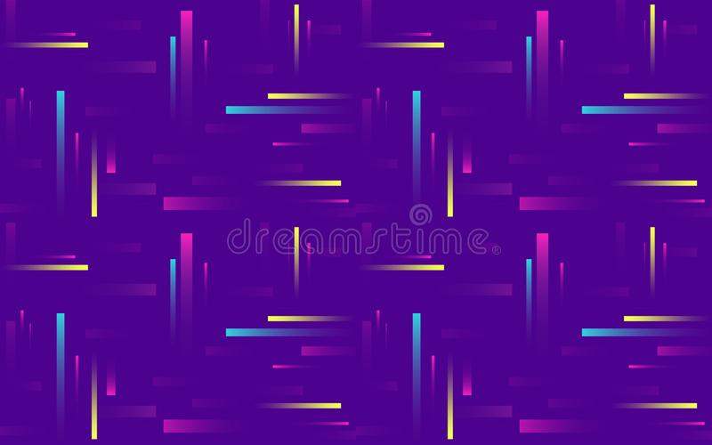 Minimal geometric background. Simple shapes with trendy gradients. stock illustration