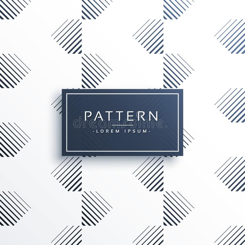 Minimal lines pattern abstract background royalty free illustration