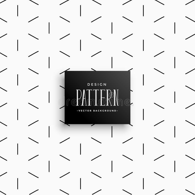 Minimal lines pattern abstract background stock illustration