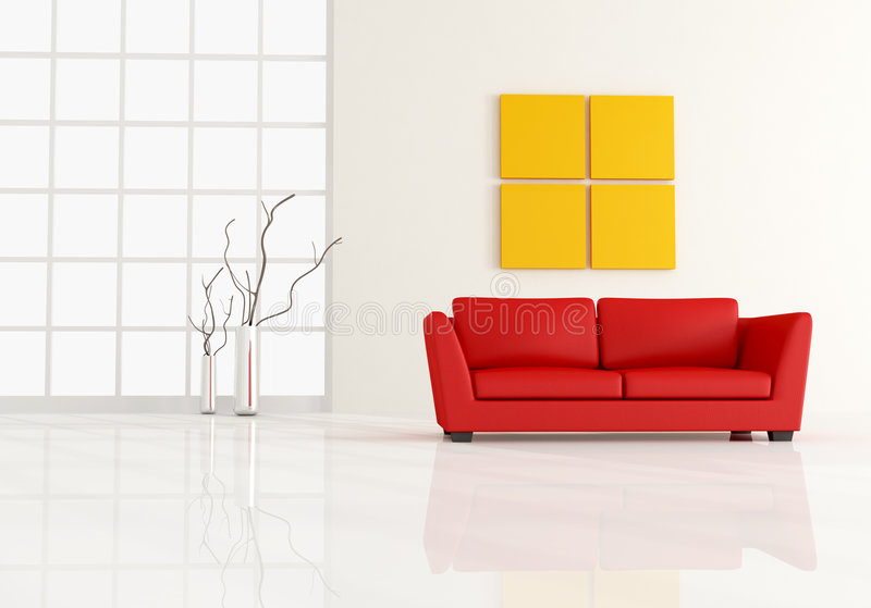 Minimal Living Room Royalty Free Stock Photo Image 9151705