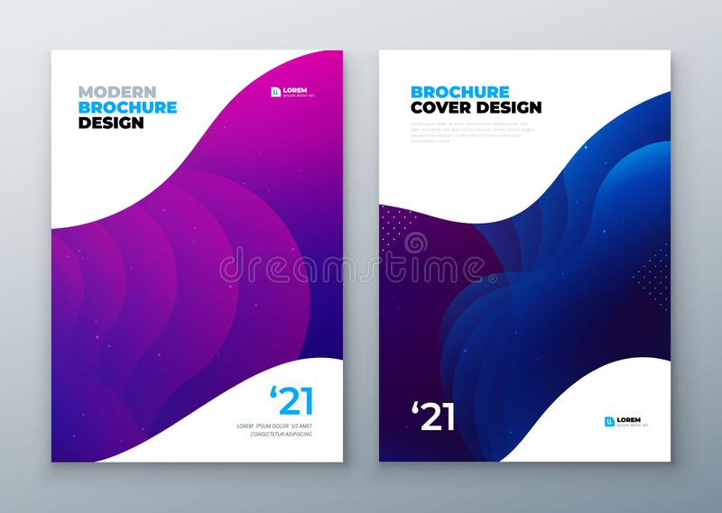 Minimal modern cover design. Dynamic colorful gradients. Future geometric patterns. poster template vector design. vector illustration