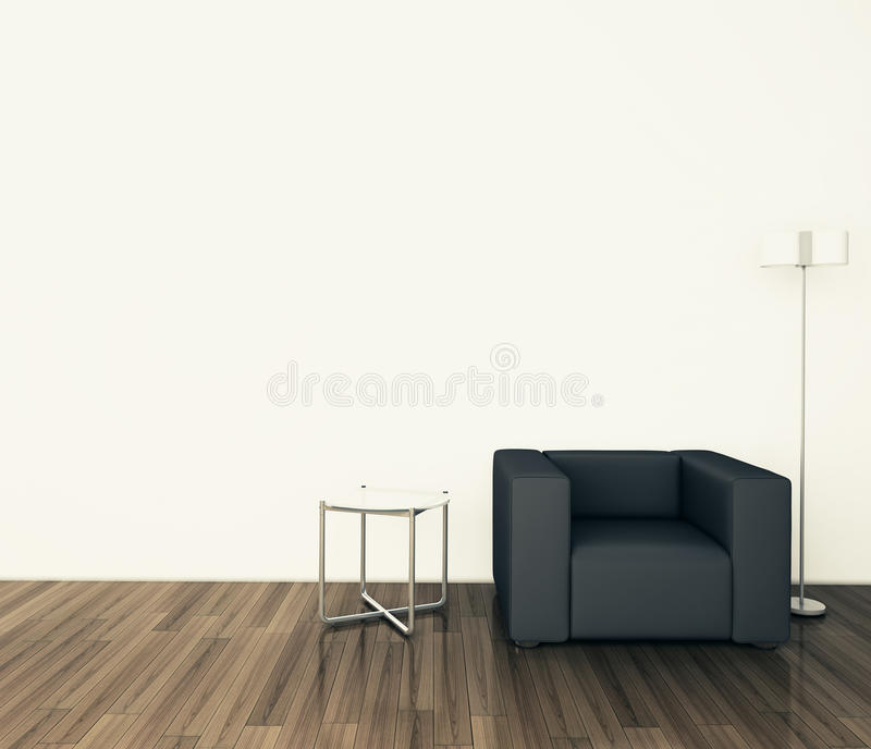 Download Minimal Modern Interior Armchair Stock Image - Image: 24195881