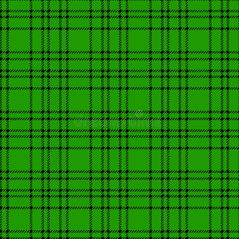 Minimal monochrome black green seamless tartan check plaid pixel pattern for fabric designs. Gingham vichy pattern background. eps vector illustration