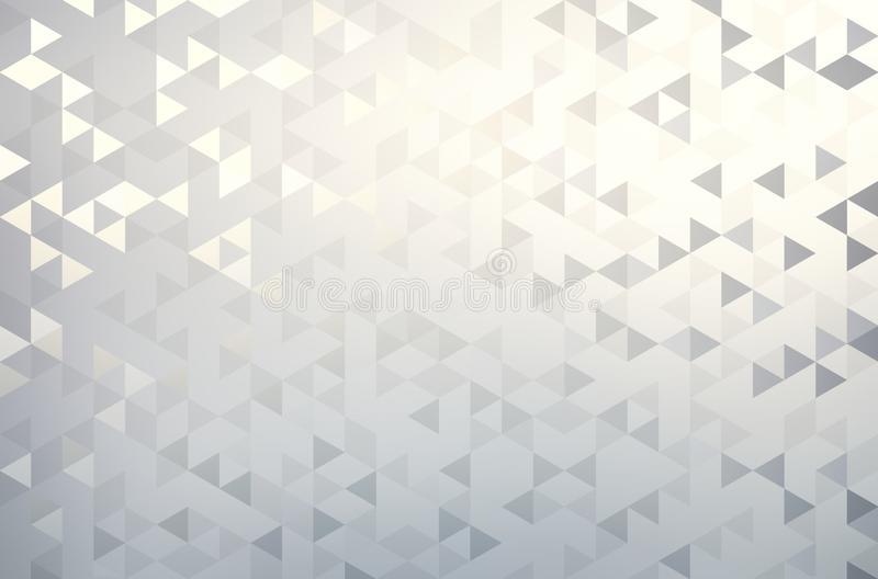 Minimal subtle geometric background. Brilliance triangles decorative pattern. Stylish abstract wallpaper. Background texture is the best illustration for design vector illustration