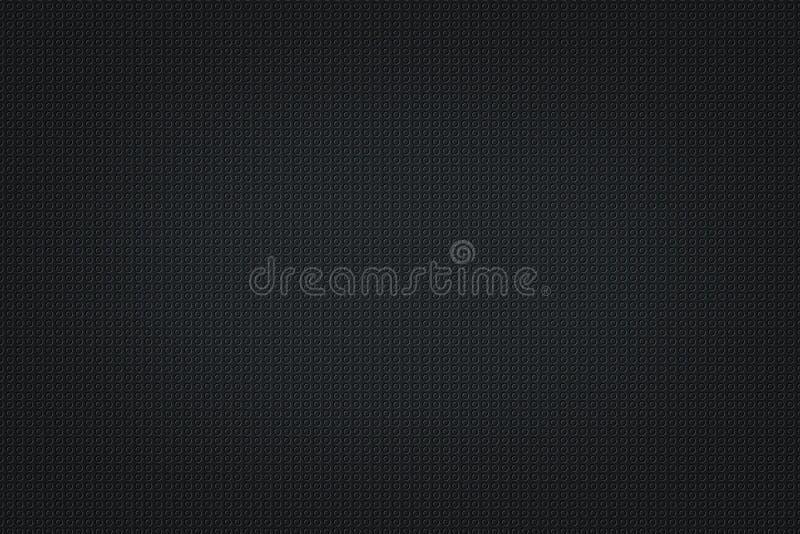 Minimale dunkle Muster-Design-Hintergrund-Beschaffenheit stock abbildung
