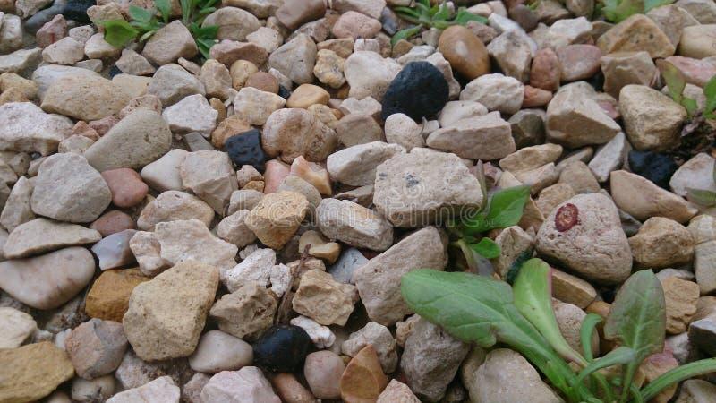 Minimale stenenachtergrond stock afbeelding
