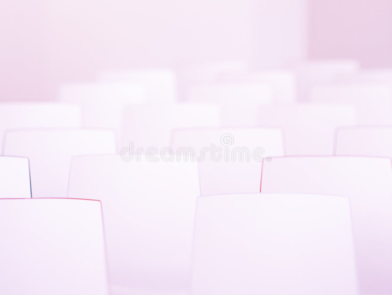 Minimale stoelen royalty-vrije stock fotografie