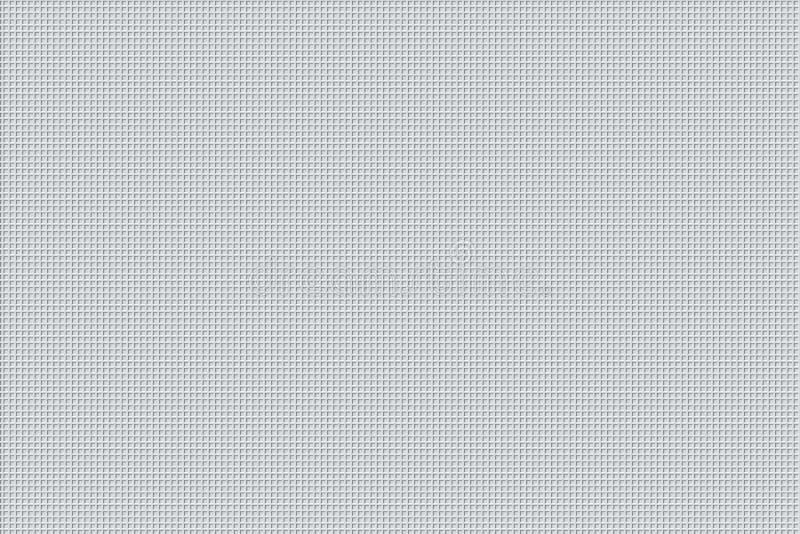 Minimale weiße Muster-Design-Hintergrund-Beschaffenheit stock abbildung