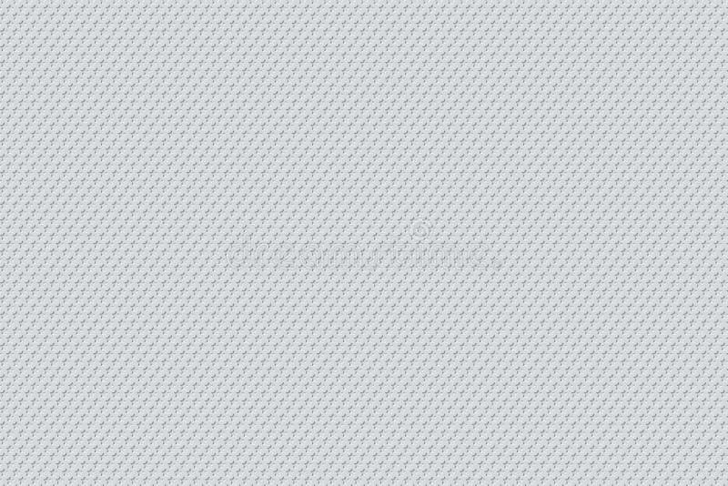 Minimale weiße Muster-Design-Hintergrund-Beschaffenheit lizenzfreie abbildung