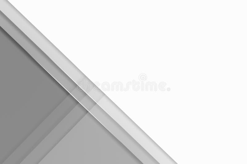 Minimaler geometrischer Hintergrund Abstrakte Steigungsentwurfsgraphik stock abbildung