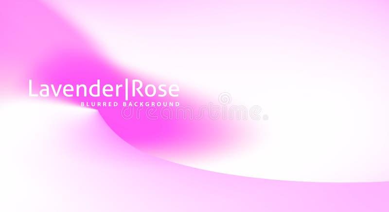 Minimaler Hintergrund mit rosa Steigung Subtile Vektorgrafik vektor abbildung