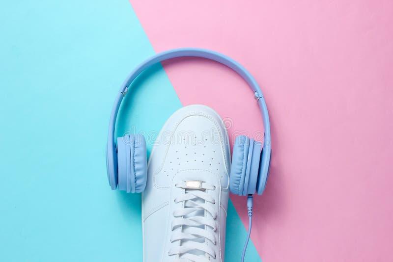 minimalism Любитель музыки стоковые изображения