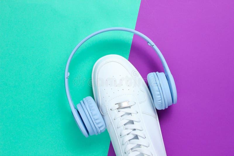 minimalism Любитель музыки стоковое изображение