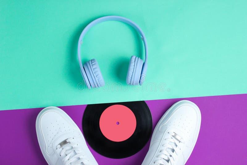 minimalism Любитель музыки стоковые фото