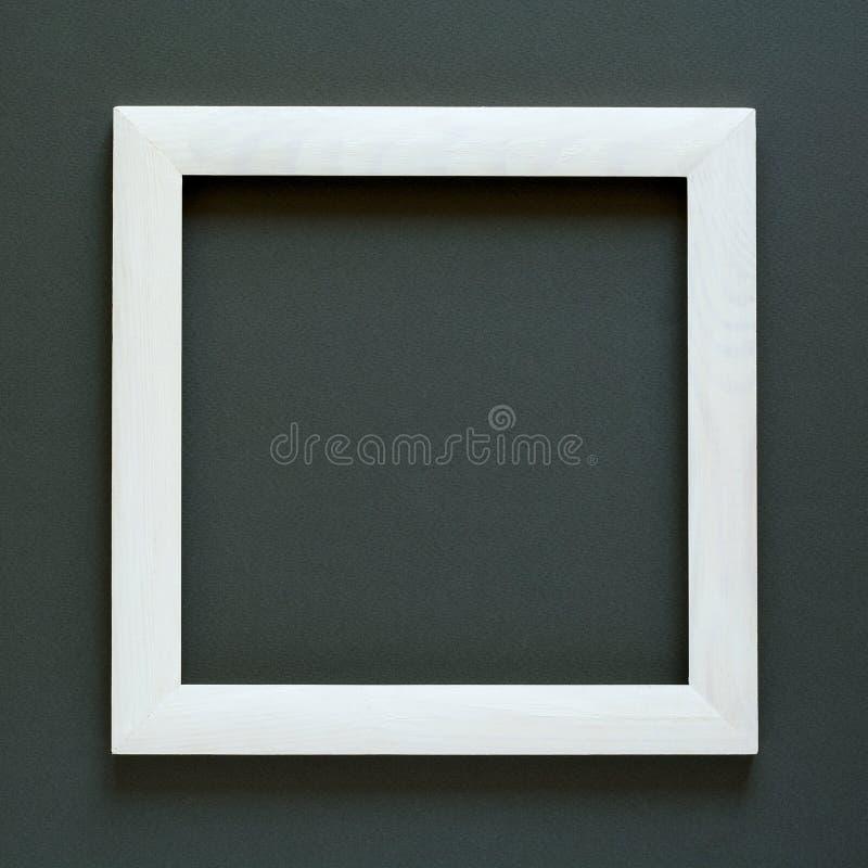 minimalism Шедевр в деревянной рамке украсил цветок гибискуса стоковое изображение