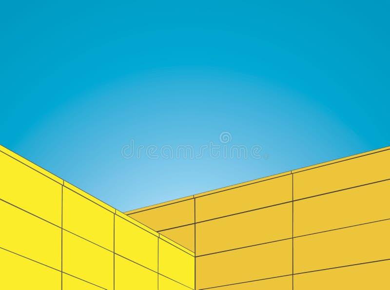Minimalisme dans l'architecture 2 photo libre de droits