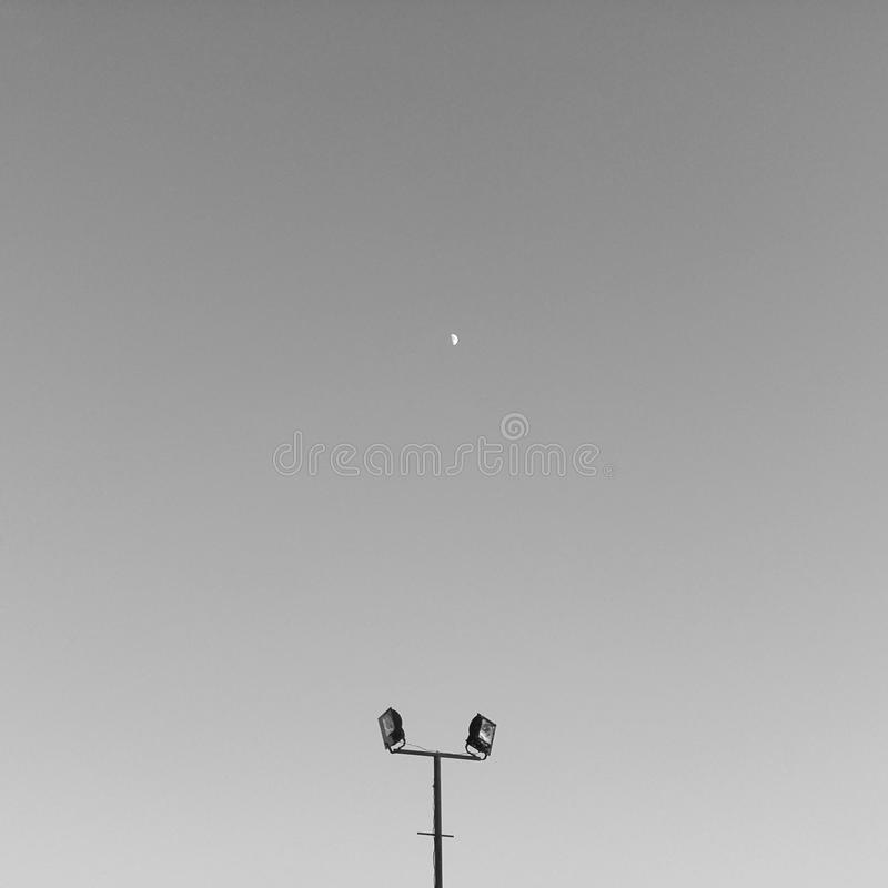 Minimalismo del cielo imagenes de archivo