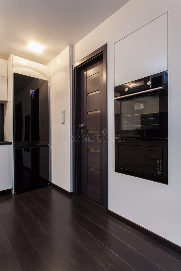 Minimalist Apartment - Kitchen Appliances Royalty Free Stock Photography