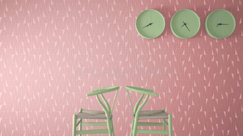 Minimalist Architect Designer Concept, Waiting Living Room With ...