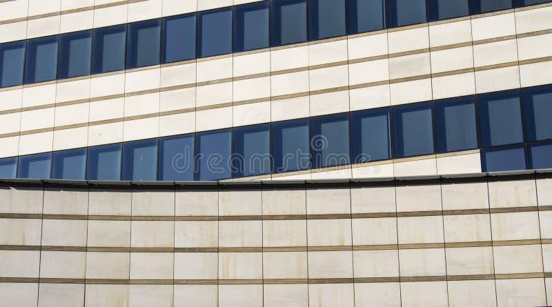 Minimalist architecture stock image