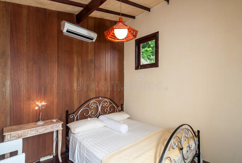 Minimalist Bedroom Villa royalty free stock images
