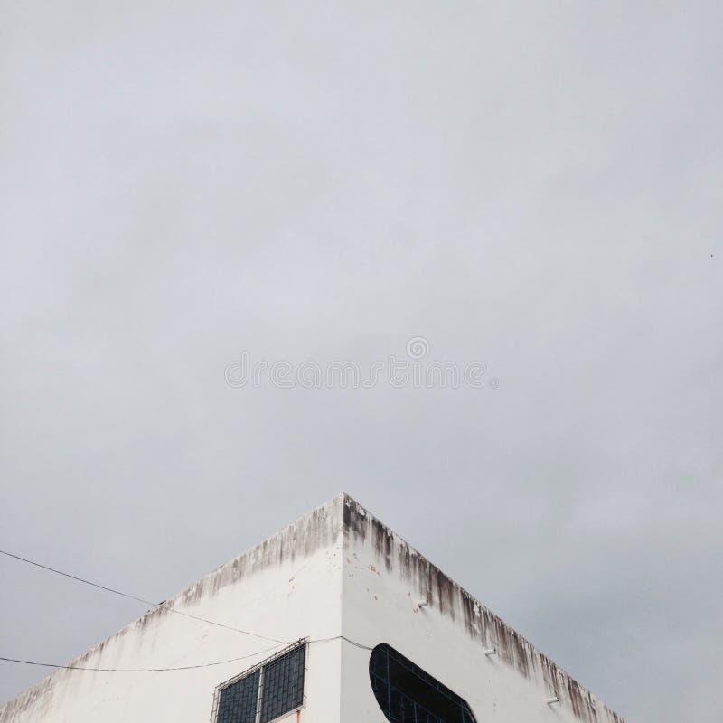 Minimalist Building stock image