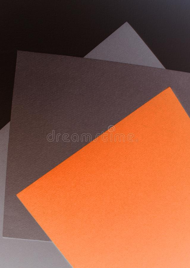 Minimalist Color Printable Paper Art. Abstract Print royalty free stock image