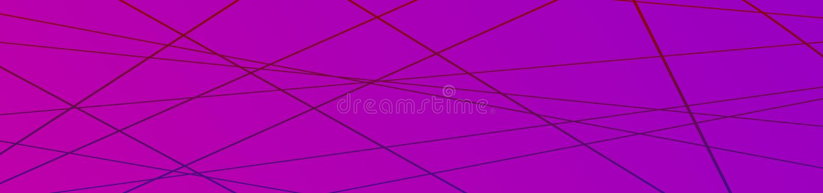 Minimalist geometric background. Banner with Trendy thin line abstract shapes composition royalty free stock image