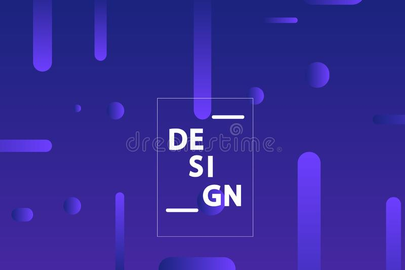 Minimalist geometric background. Trendy gradient shapes composition. Vector Illustration. Minimalist geometric background. Trendy gradient shapes composition vector illustration