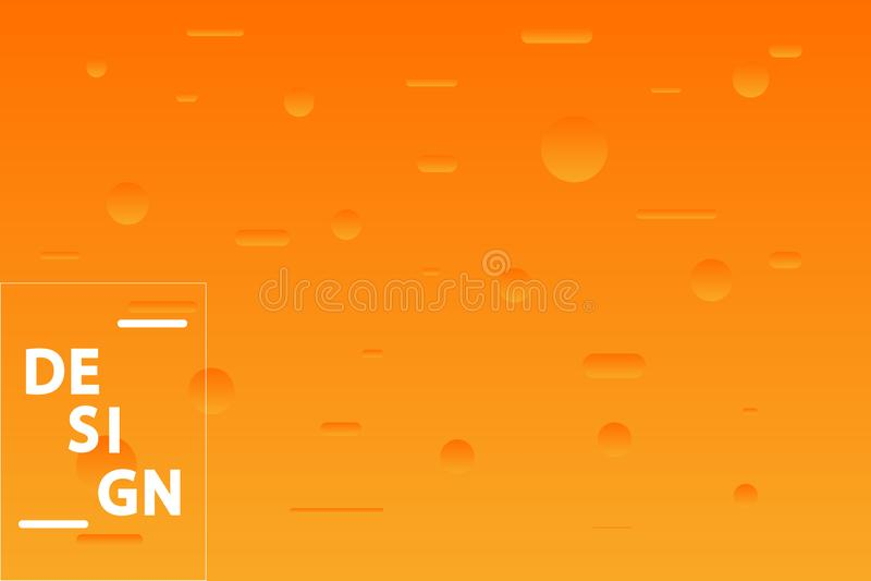 Minimalist geometric background. Trendy gradient shapes composition. Vector Illustration. Minimalist geometric background. Trendy gradient shapes composition stock illustration