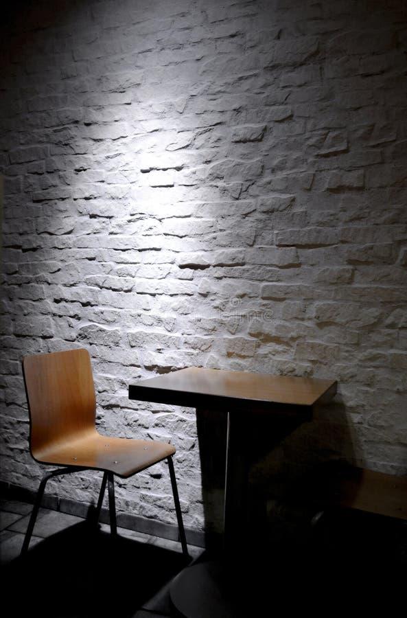 Minimalist interior royalty free stock photography
