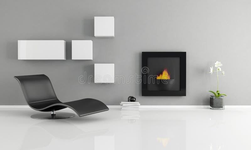 Minimalist interior royalty free stock photos