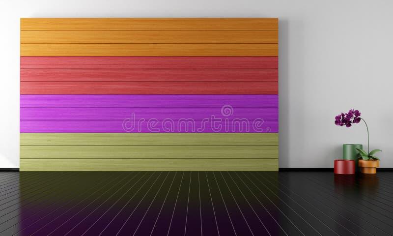 Download Minimalist lounge stock illustration. Image of sofa, relax - 29053867