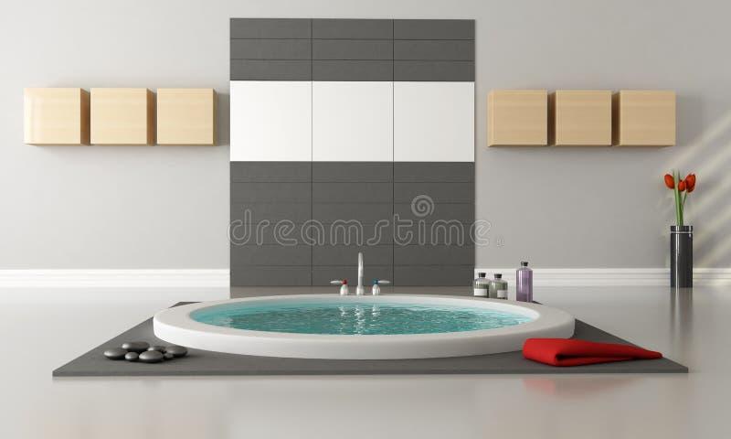 Minimalist luxury bathroom stock photos