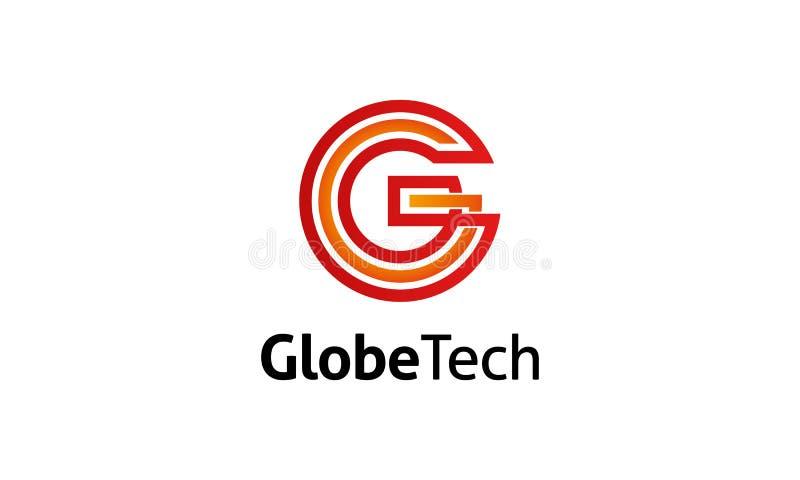 G Letter logo template royalty free illustration
