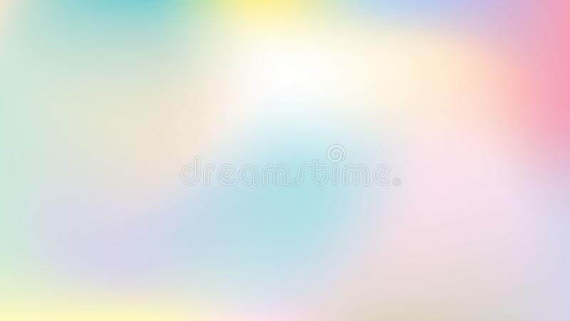 Minimalist pastellfärgad bakgrund stock illustrationer