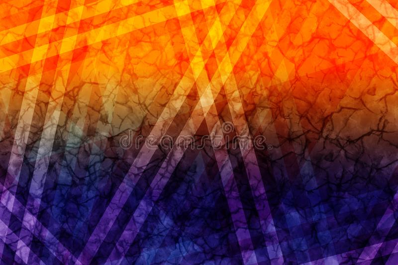 Minimalist pink zig zag background. Dynamic, delicate and fun texture royalty free illustration