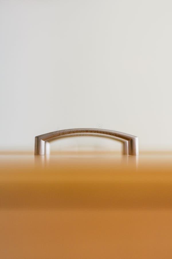 minimalista Drzwiowej rękojeści gabinet fotografujący od różnego kąta zdjęcia royalty free