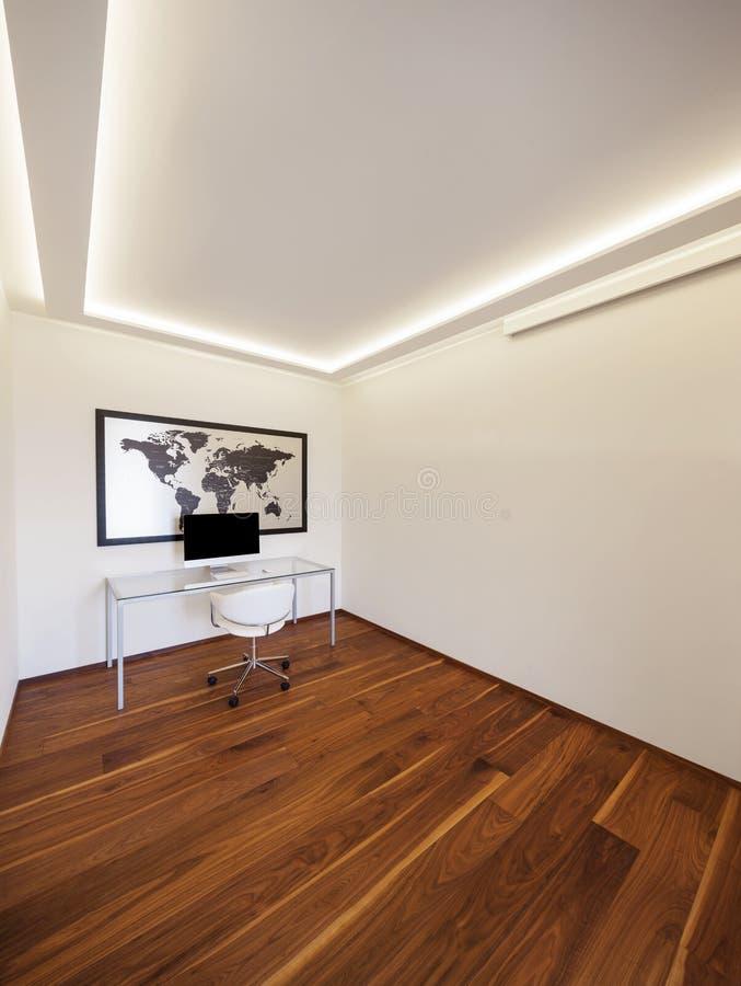 Minimaliste moderne de bureau, intérieurs image stock