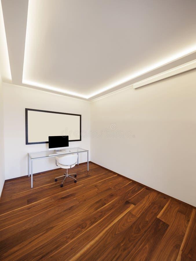 Minimaliste moderne de bureau, intérieurs photographie stock