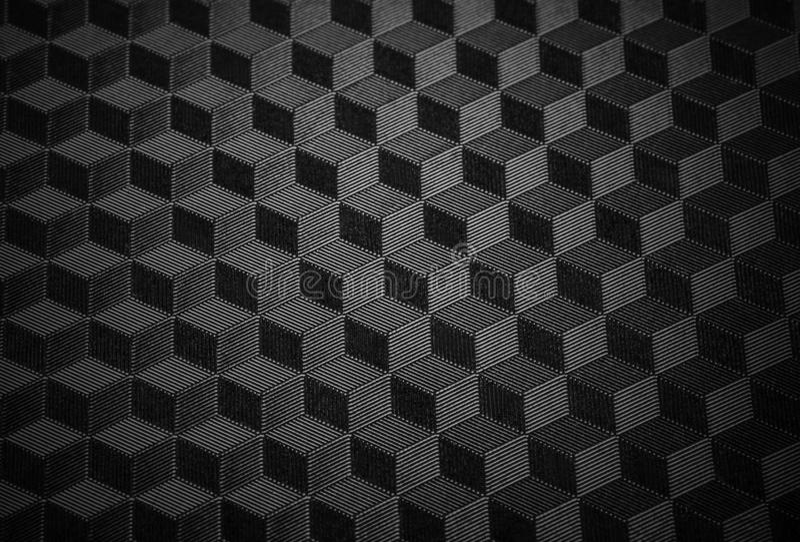 黑minimalistic纹理 免版税库存图片