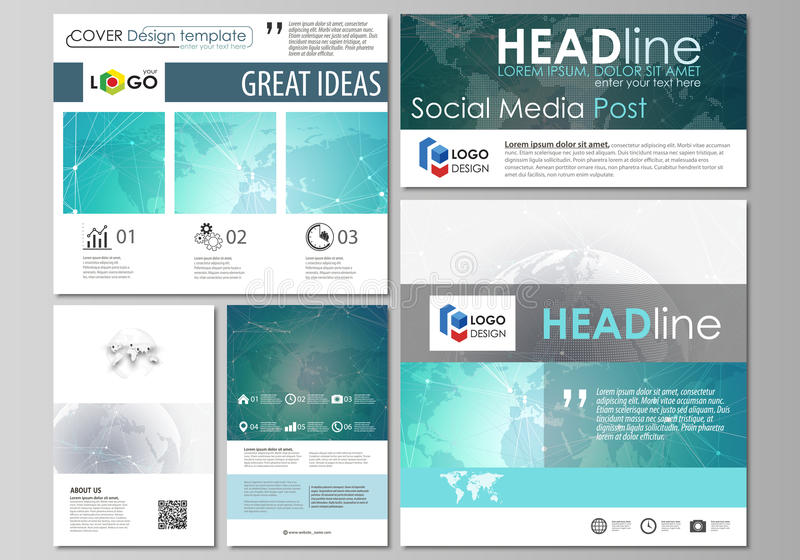 social networking sites free templates download - the minimalistic abstract vector illustration of the