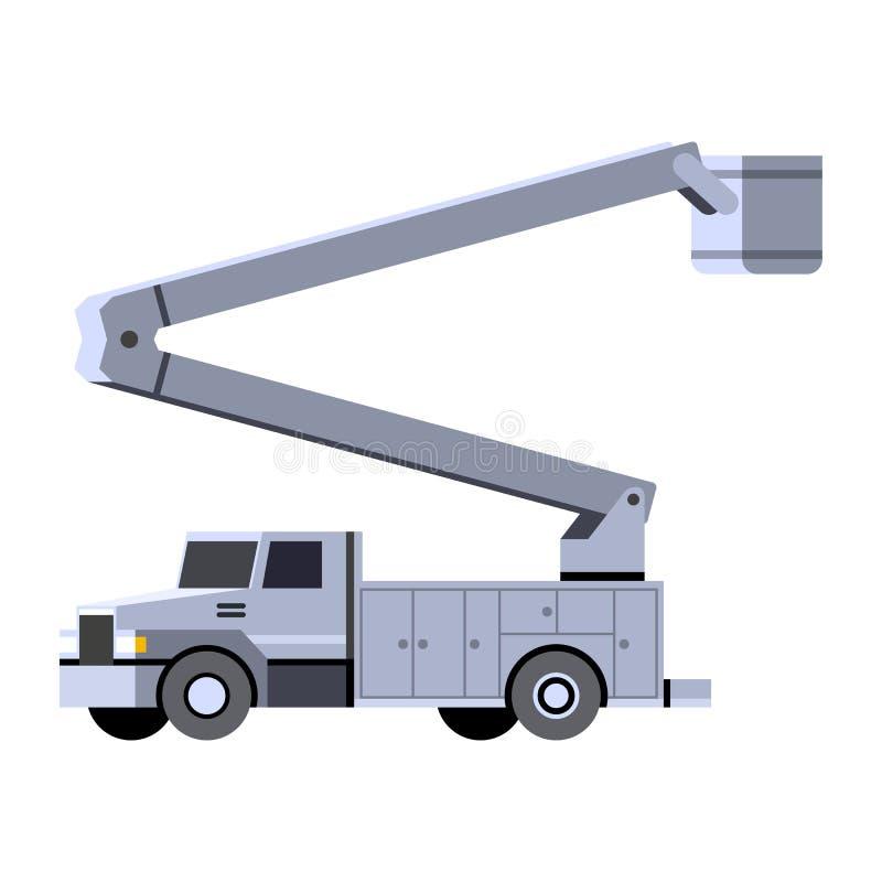 Lift Bucket Truck Stock Illustrations – 541 Lift Bucket