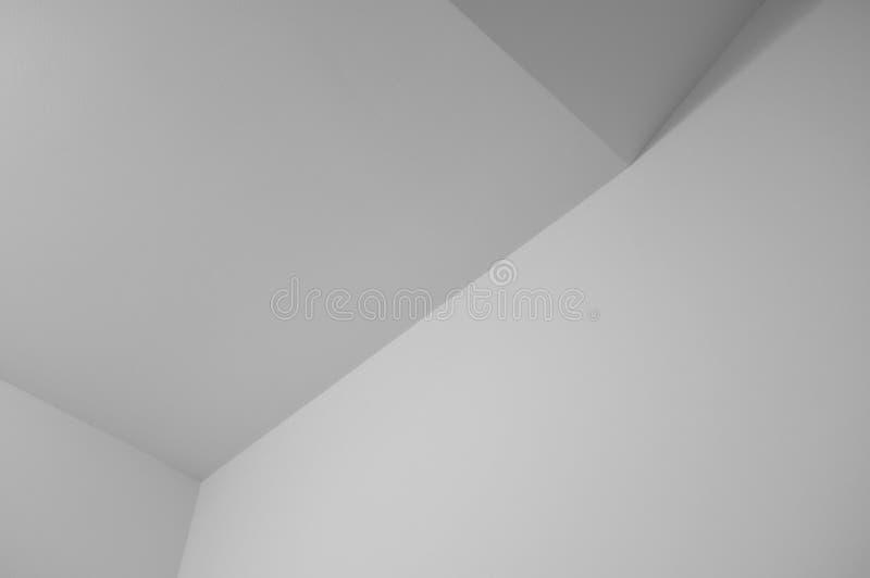Minimalistic Monochrome Geometric Background. Minimalistic Monochrome Geometric Corner Background royalty free stock photo
