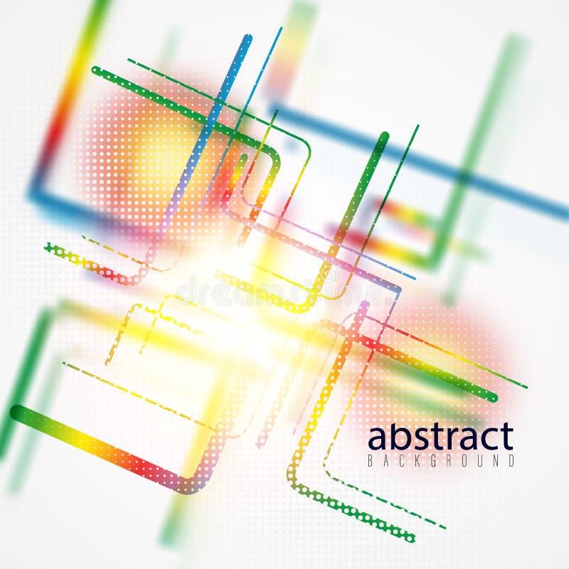 Minimalistic projekt, kreatywnie poj?cie, nowo?ytnego diagonalnego abstrakcjonistycznego t?a Geometryczny element B??kit, kolor ? royalty ilustracja