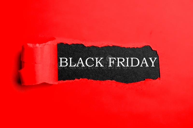 Minimalistic promo banners for black friday sale shopping event. royalty free stock image