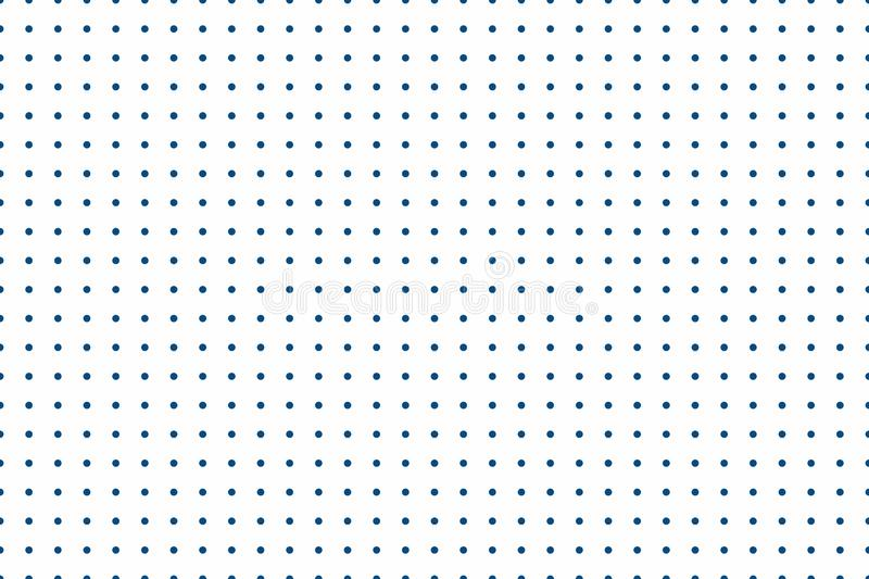 Minimalistic seamless background. The background is filled with circles at equal distance. Versatile geometric texture. Eps 8 stock illustration