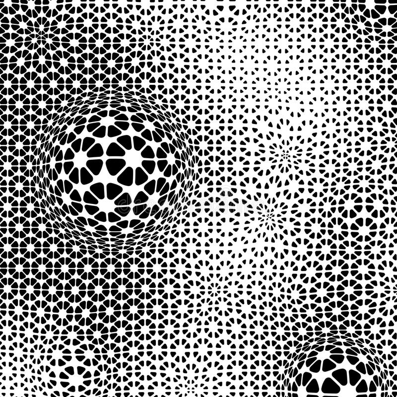 Minimalistic-Zusammenfassung punktiert Illustration vektor abbildung