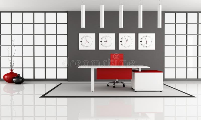 minimalistyczna powierzchnia biurowa ilustracja wektor