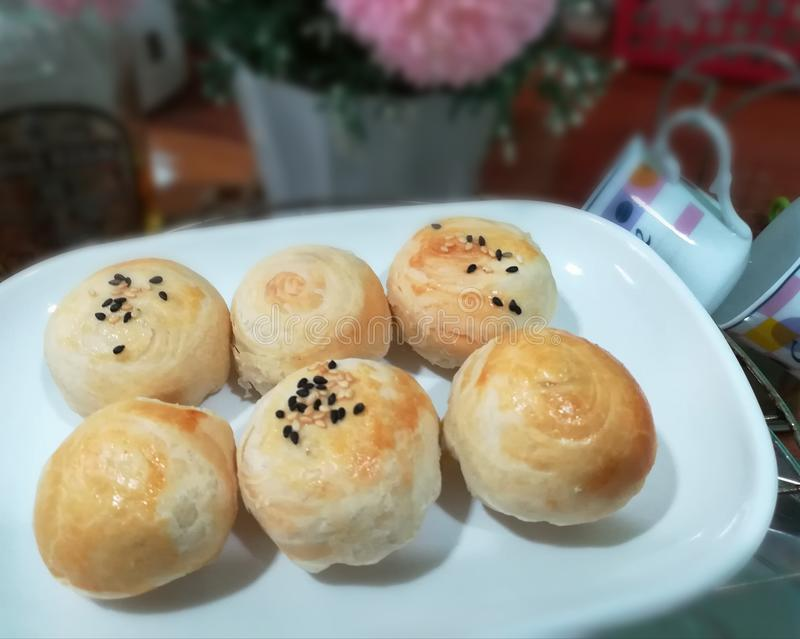 Minimooncake photo stock